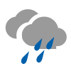 Cubierto con lluvia